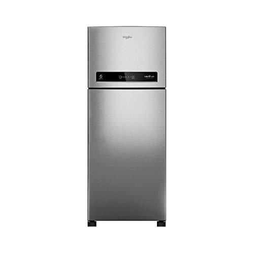 Whirlpool 265 L 3 Star Inverter Frost-Free Double Door Refrigerator (IF CNV 278 ELT COOL ILLUSIA STEEL(3S), Cool Illusia)