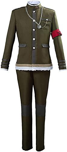Dangan V3 Cosplay Korekiyo Shinguji Disfraz de hombre y mujer uniforme militar anime traje de escuela secundaria con sombrero conjunto completo Cosplay disfraces