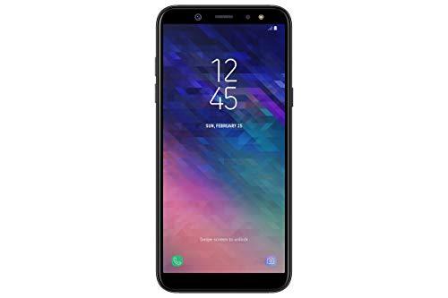 Samsung Galaxy A6 (2018) Smartphone, 32 GB Espandibili, Dual Sim, Nero (Black) [Versione Italiana] (Ricondizionato)