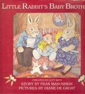 Little Rabbits Baby Brother: Fran Manushkin: 9780517562512
