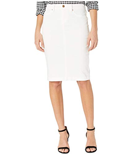 Blank NYC Denim Pencil Skirt in Great White Great White 26