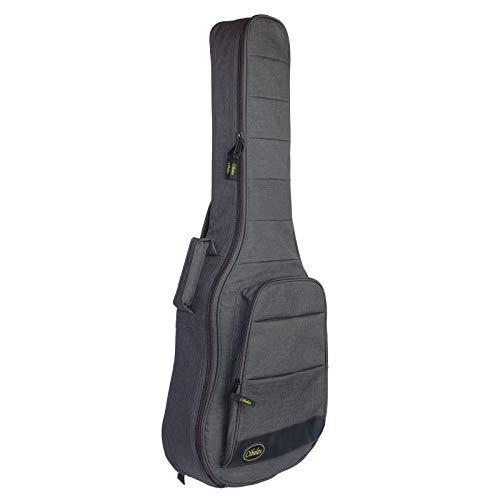 Funda para guitarra clásica con acolchado de 25mm, marca Cibeles - Espuma alta densidad (gris)