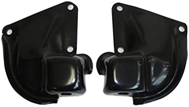 (H-8-3) Inline Tube Motor Mount Bracket Set Compatible with 1964-67 GM A-Body Big Block Chevelle, El Camino, Cutlass, GTO and Skylark