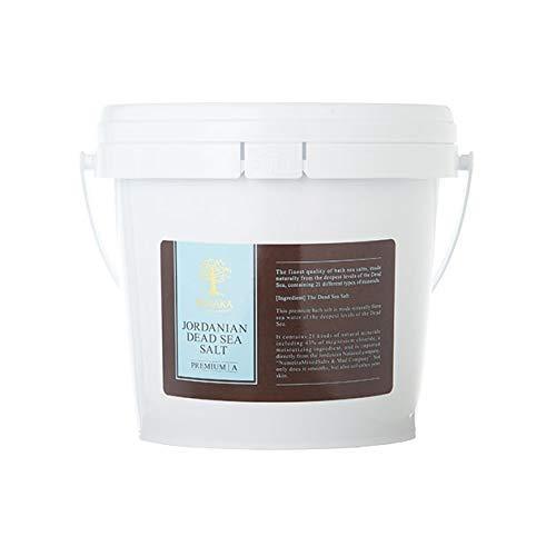 BARAKA(バラカ) ジョルダニアン デッドシー ソルト バケツ 1.5kg バスソルト 入浴剤 ヨルダン 死海塩