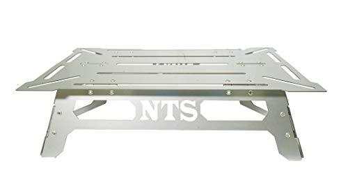 NATURE TONES(ネイチャートーンズ) アウトドアテーブル 小型テーブル ワンハンドソロテーブル OHST-A4-SUS ステンレス
