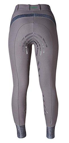 Caldene–Giacca da Equitazione SS18Tex Palena Mid Rise, Donna, CD5858-GY03-REG-32, Dark Grey, 32- inch