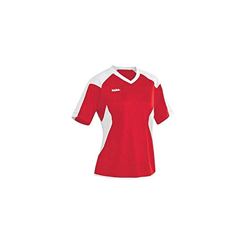 Oxford Women's Fit Soccer Jersey - Youth Large, Red/White