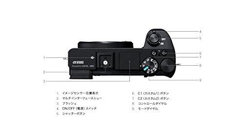ソニーデジタル一眼カメラ「α6500」ボディSONYα6500ILCE-6500