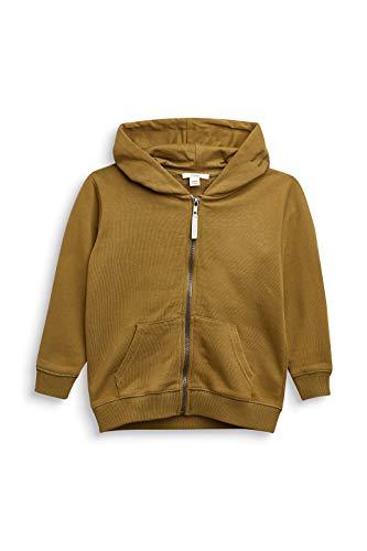 ESPRIT Jungen Sweatjacke Sweatshirt, Olive|Oliv, XL