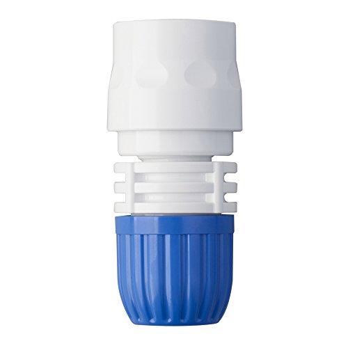 Takagi (Takagi) Théorème d'Tube avec Filtre 13 mm Jardin d'arrosage Accessoire – Bleu/Blanc, 1/5,1 cm, 3.6 x 3.7 x 7.8 cm