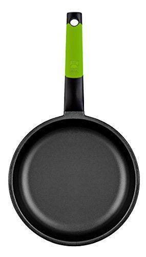 BRA PRIOR - Sartén de 28 cm, aluminio fundido con antiadherente Teflon Classic, apta para todo tipo de cocinas incluida inducción y horno.Libre de PFOA.