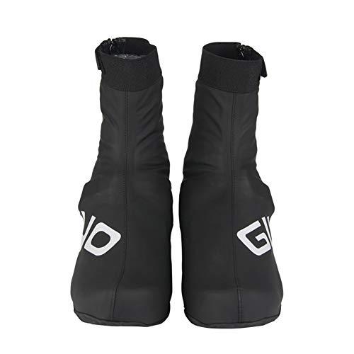JAWSEU Cubrezapatos Térmico Impermeable,Cubierta de Zapatos de Bloqueo de Ciclismo en Invierno...