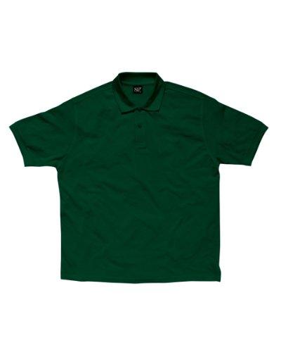 SG sg59-bg-2X L Herren Polo Shirt, 2X Große, Flasche Grün (5Stück)