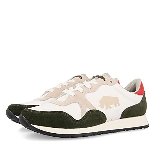 Sneakers Verde Kaki para Hombre Vittorio