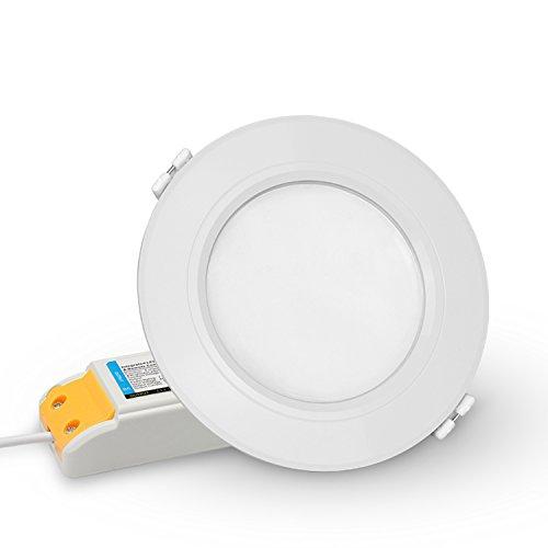 LIGHTEU®, Milight RGBCCT 6 WATTS LED Deckenleuchte, smart rf aktiviert Touch Remote Wifi Steuerung LED Downlight Deckenlampe 6W, FUT068