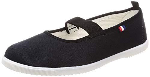 [ムーンスター] フレッシュメイト 52 上履き 上靴 室内履き 日本製 子供から大人まで (26.0, ブラック)