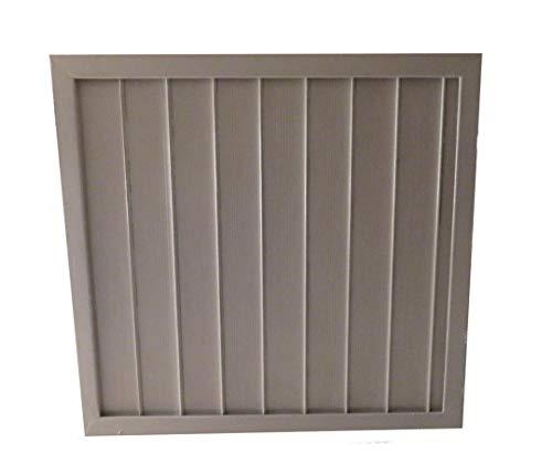 Residential Fan Shutter Cover Attic Exhaust Vent Stop Sealer Door Insulation Kit