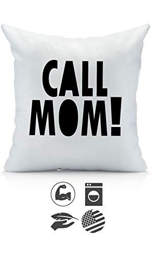 Oh, Susannah Call Mom! 18x18 Inch Throw Pillow Cover Dorm Room Accessories Graduation Party Supplies 2018 College Gifts