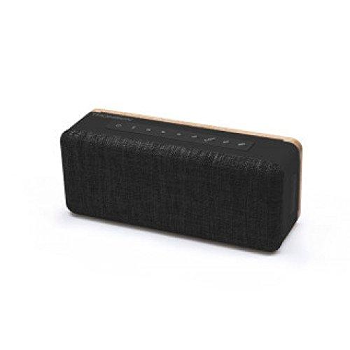 Thomson WS04N 20 W Schwarz - Tragbare Lautsprecher (20 W, Verkabelt & Kabellos, Schwarz, Rechteck, Digital, Universal)