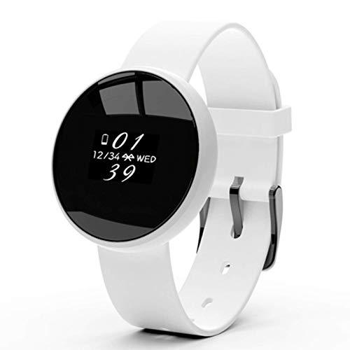 Gymqian B16 Watch Smart Watch Multi-Proputado Reloj de Ladres Período Fisiológico Gestión de Llamada de Llamada Recordatorio, Rojo Desgaste diario/Blanco