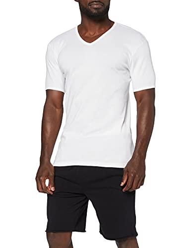 Eminence - T-Shirt - Col V - Les Classiques - Taille XL - Homme - Blanc - 100% Coton hypoallergénique