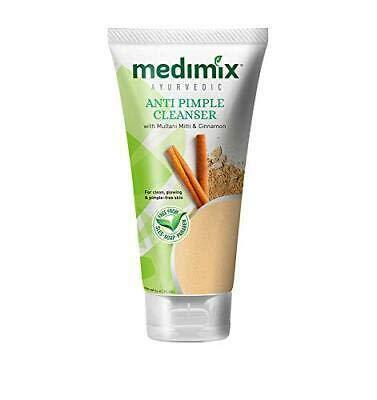 Medimix Ayurvedic Anti Pimple Cleanser with Multani Mitti (Fuller Earth) and Cinnamon - 150 ml