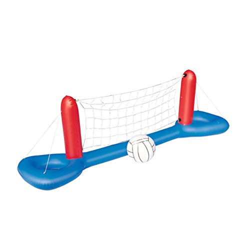 BESPORTBLE Pool Volleyball Spiel Aufblasbares Wasserballspiel Volleyballnetz Kinder Erwachsene Sommer Schwimmbad Strand Party Wasser Spielzeug
