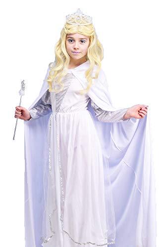 Magic Box Kinder Die weiße Hexe Narnia Stil Kostüm Small (3-5yrs)