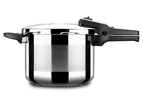 Olla a presión ALZA TITAN PLUS. Olla express acero Inoxidable, apta para tipo de cocinas...