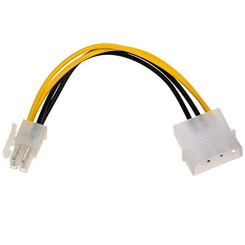Cable Adaptador AKYGA AK-AD-50 Conector VGA Hembra a Conector DVI Macho de 24+1 Pines, 15 cm