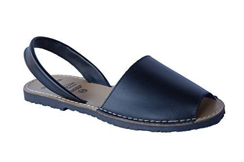 Avarca Menorquin – 201 – Sandalen für Herren, Schwarz - Schwarz - Größe: 43 EU