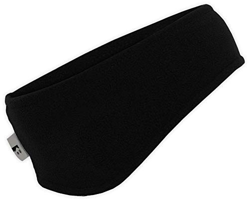 Ear Warmer Headband - Winter Fleece Ear Cover for Men & Women - Warm & Cozy Cold Weather Ear Muffs for Running, Cycling, Sports & Daily Wear - Soft & Stretchy Earmuffs - Thermal Polar Ear Band