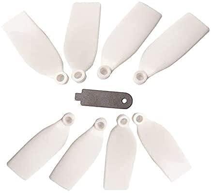 Maquer Accessori per droni Elica 1 Set Elica in Nylon per Zerotech Dobby Drone CW CCW Puntelli a sgancio rapido Eliche per Dobby Pocket Drone con Strumento di rimozione Accessori per droni