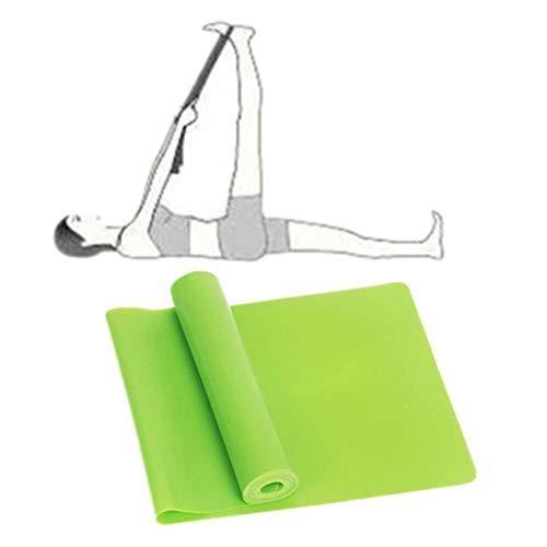 Bandas De Resistencia Cintas Elasticas Musculacion Banda elástica Gimnasio Bandas Bandas de Yoga Equipo de Ejercicio para el hogar Green,-