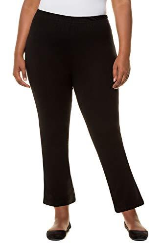 Ulla Popken Damen große Größen Yoga-Hose schwarz 50/52 701136 10-50+