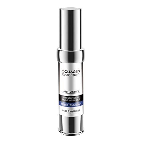 FRCOLOR 1 Botella de Crema para Ojos Colágeno Crema para Ojos Antiedad Gel para Ojos Removedor de Ojeras
