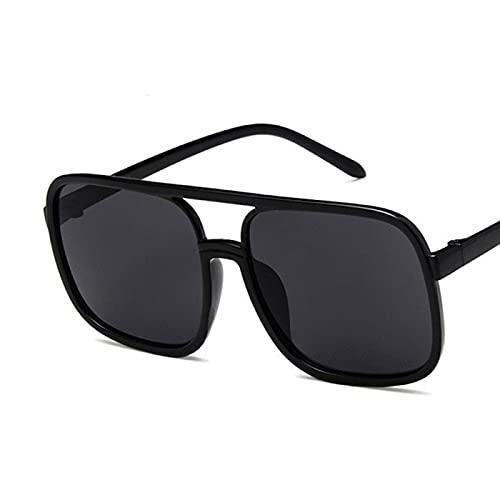 Único Gafas de Sol Sunglasses Gafas De Sol Cuadradas Atractivas Lindas De Lujo con Marco Grande para Mujer, Gafas De Sol