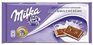 Milka Milk Chocolate, Alpine Milk Cream, 100g