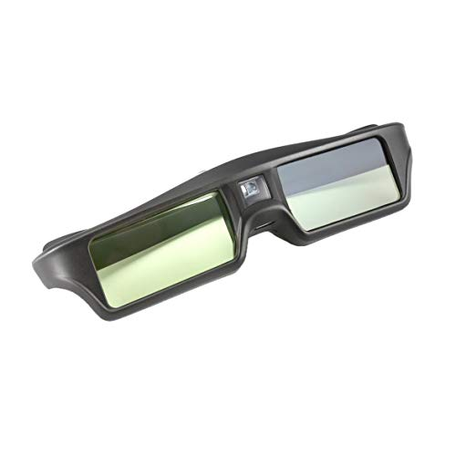 Sylvialuca Kohlenstoffarmen und Umweltschutz 3D IR Active Shutter Brille für BenQ W1070 W700 W710ST DLP-Link Projektor