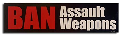 Gear Tatz 'Ban Assault Weapons New Political Novelty Bumper/Car...