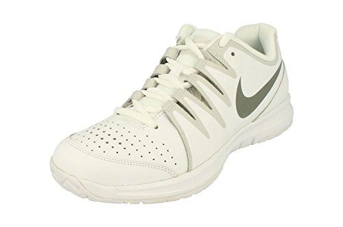Nike Vapor Court, Zapatillas de Tenis para Hombre, Blanco/Gris/Plateado (White/Tumbled Grey-NGHT Silver), 45 EU
