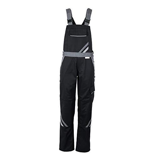 Planam Größe 36 Damen Highline Damen Latzhose schwarz Schiefer Zink Modell 2719