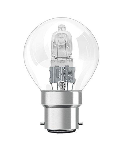 Preisvergleich Produktbild Osram Classic A Halogen-Lampe,  B22D-Sockel,  dimmbar,  116 Watt - Ersatz für 150 Watt,  Warmweiß - 2800K,  2er-Pack