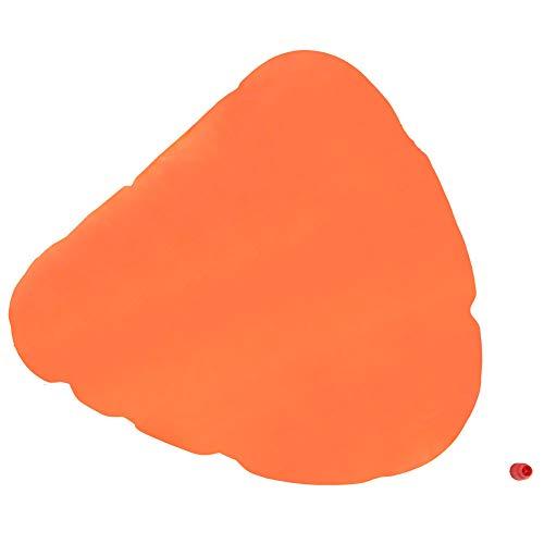 DyAn Flotador Inflable De Natación con Flotador De Seguridad para La Vida De Color Naranja Ligero para Canoa, Kayak
