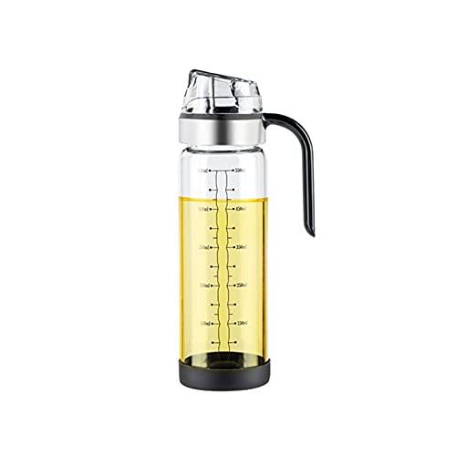 YUZZZKUNHCZYH Aceitera Spray, Botella de dispensador de Aceite, dispensador de vinagre para aderezo para ensaladas, Botella de Vidrio dispensador de Aceite de Vidrio Libre de Plomo