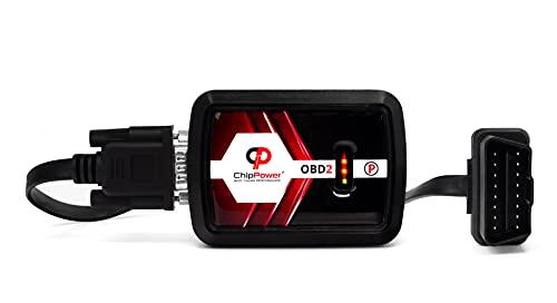 Centralina Aggiuntiva ChipPower OBD2 v4 con Plug&Drive per Meriva A 1.4 66kW 90 CV 2003-2010 Tuningbox Benzina Chip Tuning più potenza e meno consumi