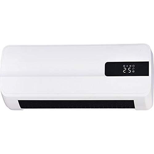 EFFE Termoventilatore da Muro k180 Bianco | 2 Livelli di Potenza selezionabili 1000/2000W | Potenza Massima 2000W | Alimentazione 220-240V - 50 Hz | Misure: 450 * 110 * 185 mm