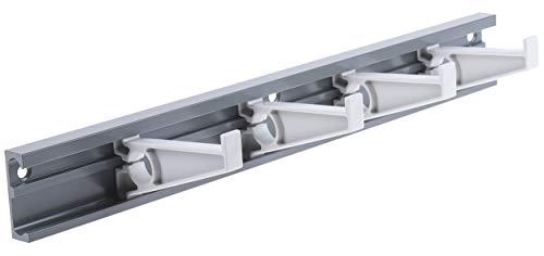 RS PRO Modulares Leitungsaufbewahrungsrack aus Aluminium, 350 x 81 x 46mm, für Kabel bis ø 16.9mm