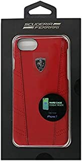 Ferrari Off Track Collection Hard Case for iPhone 7, Red, FEOFOHCP7RE