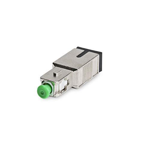 Elfcam - Atenuador de fibra óptica OS2 SC/APC monomodo, macho/hembra, 3dB